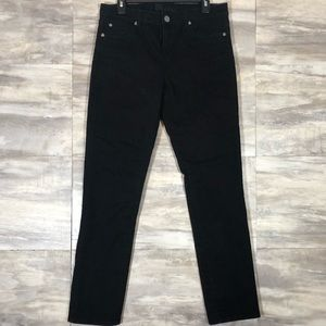 Kut From The Kloth Straight Leg Jeans Black size12